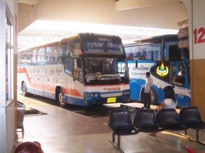 Mit dem Bus in die Stadt