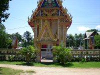 Tempel in der Stadt