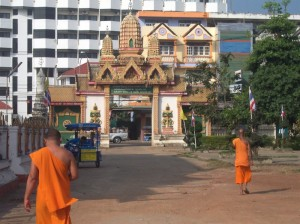 Tempel in der Innenstadt